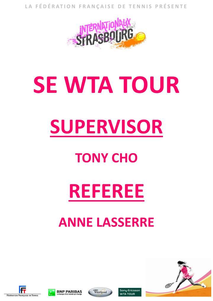 SE WTA TOUR