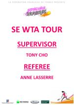 se wta tour supervisor tony cho referee anne lasserre