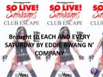brought to each and every saturday by eddie bwang n company