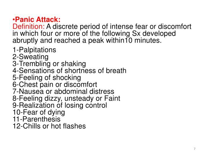 Panic Attack: