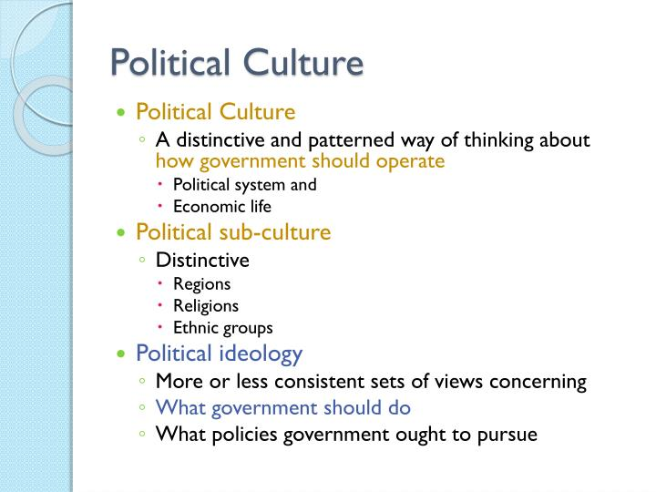 chapter 1 american political culture View notes - chapter 1: american political culture from poli 001 at university of iowa outline whatamericansthinkaboutgovernment 1.