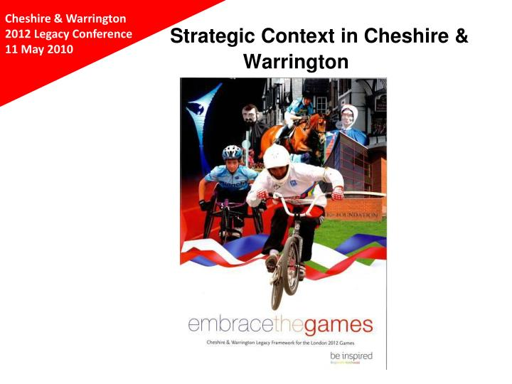 Strategic context in cheshire warrington