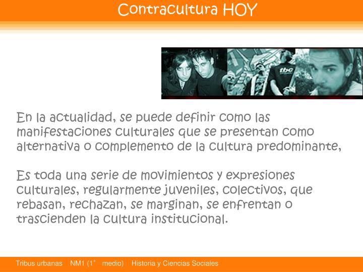 Contracultura HOY