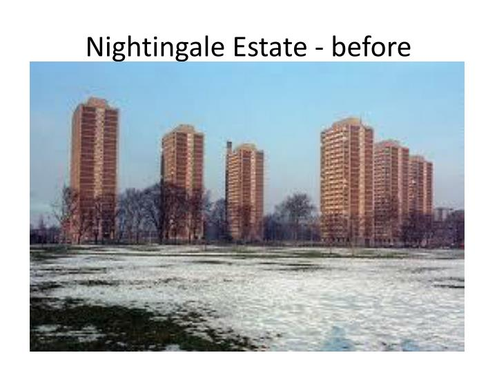 Nightingale Estate - before