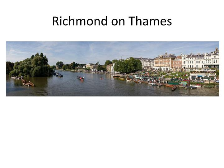 Richmond on Thames