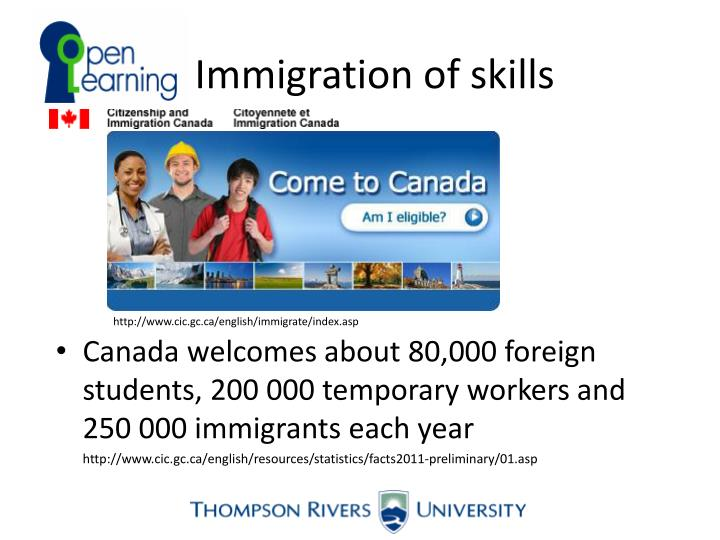 Immigration of skills