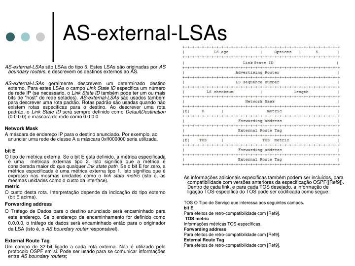 AS-external-LSAs