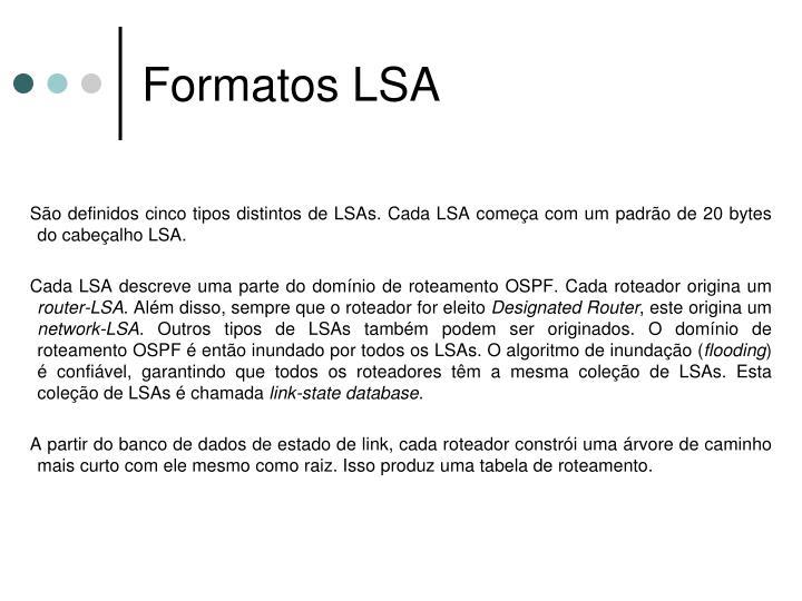 Formatos LSA