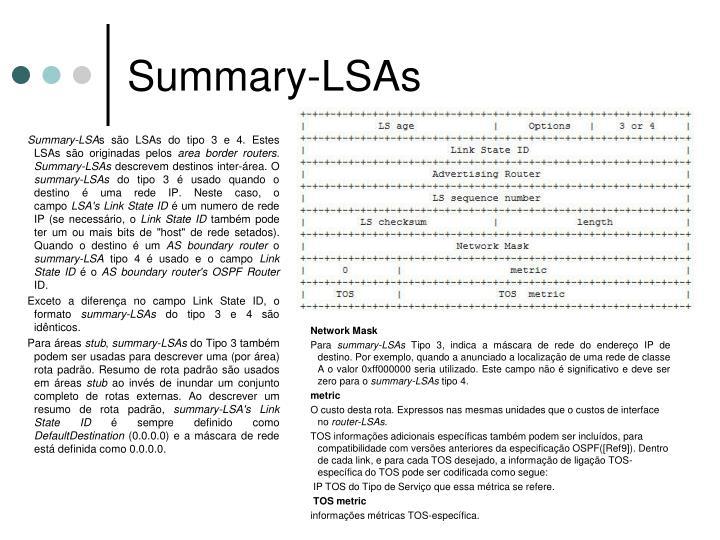 Summary-LSAs