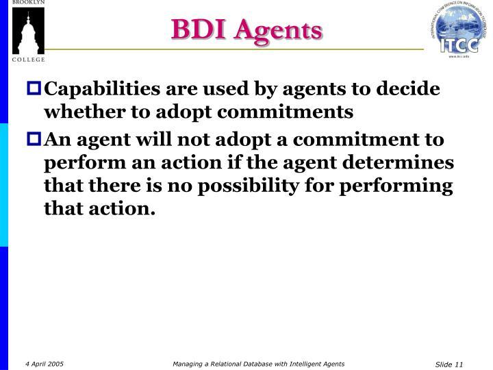 BDI Agents