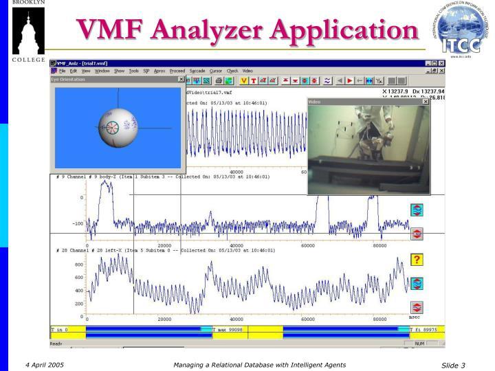 VMF Analyzer Application