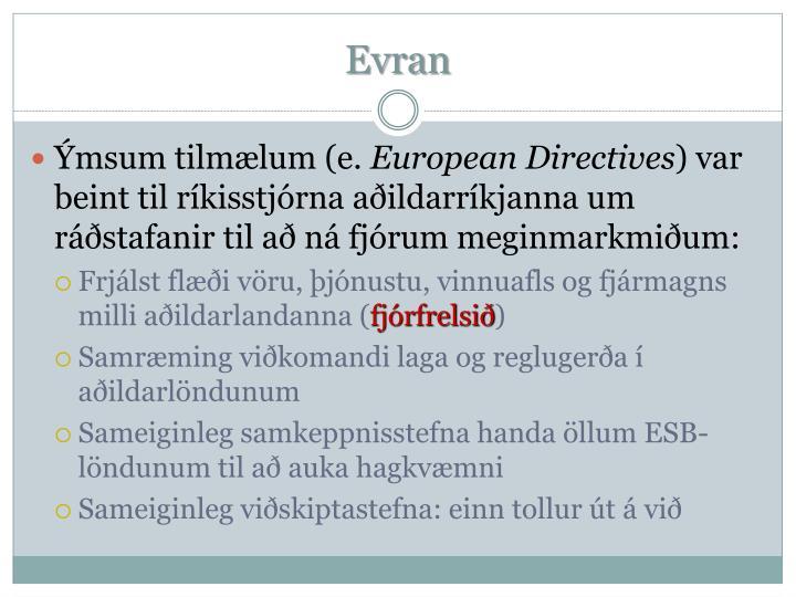 Evran