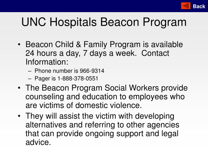UNC Hospitals Beacon Program