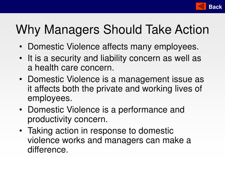 Why Managers Should Take Action