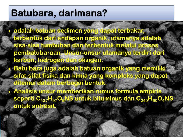 Batubara,