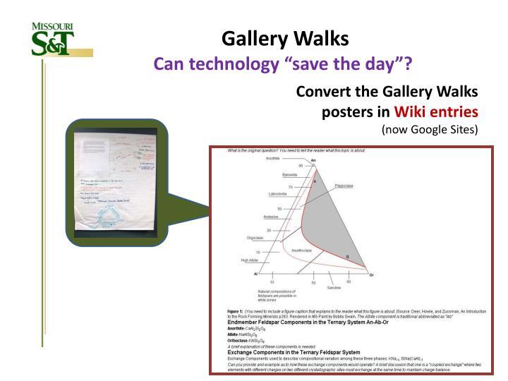 Gallery Walks