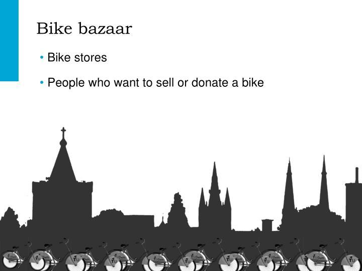 Bike bazaar