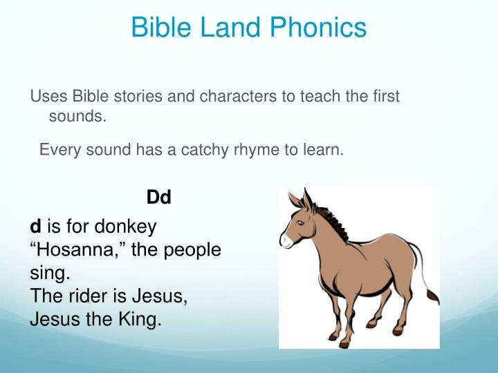 Bible Land Phonics