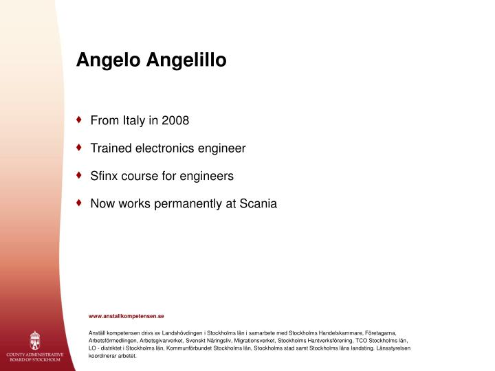 Angelo Angelillo