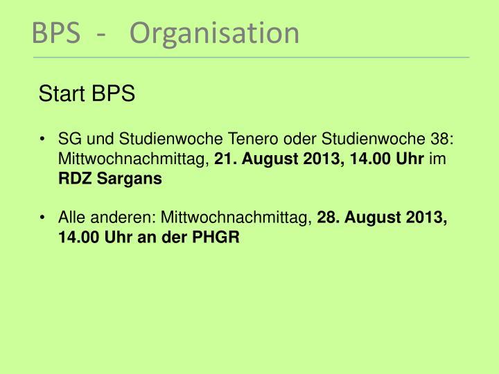 Start BPS