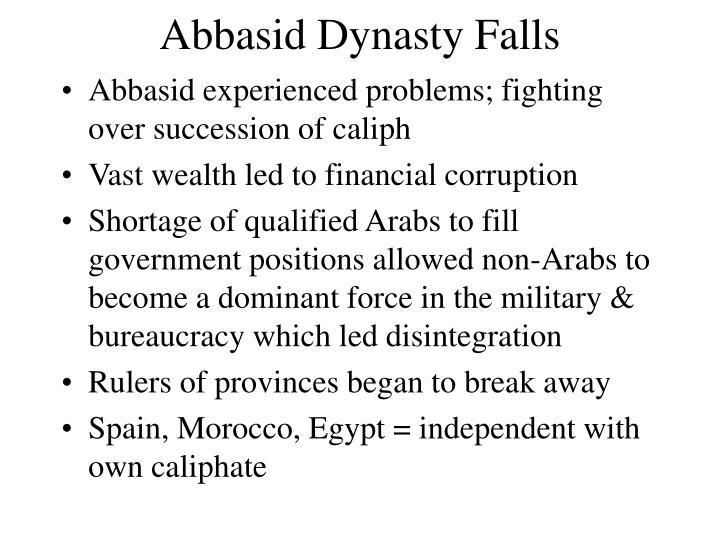 Abbasid Dynasty Falls