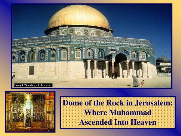 Dome of the Rock in Jerusalem: