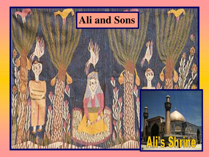 Ali and Sons