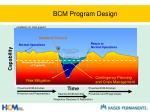 bcm program design