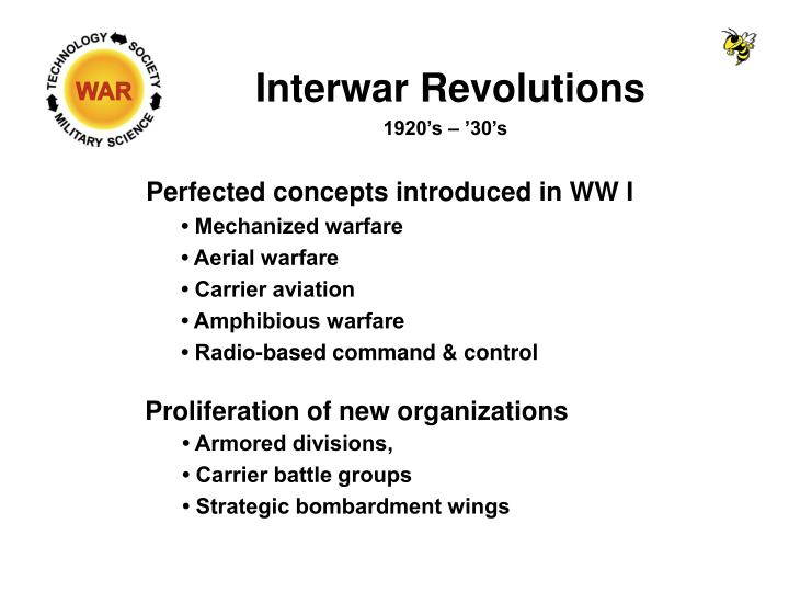Interwar Revolutions