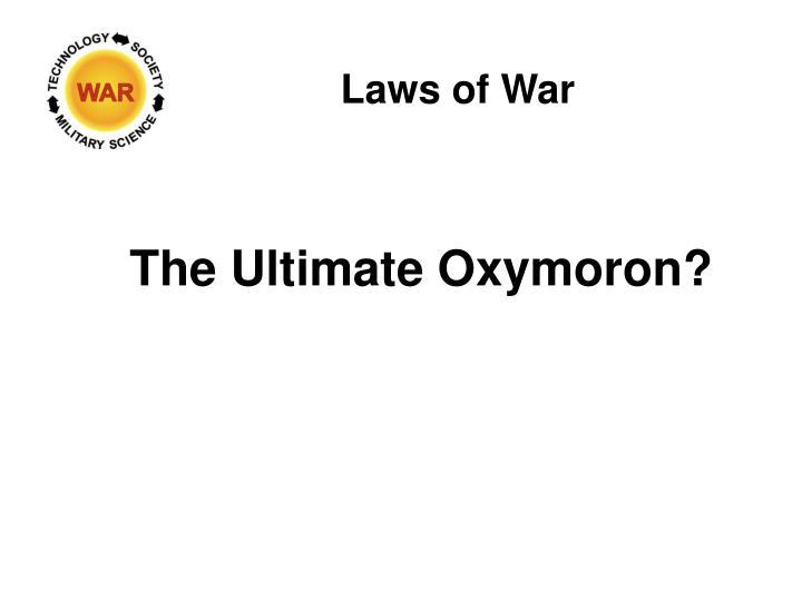Laws of War