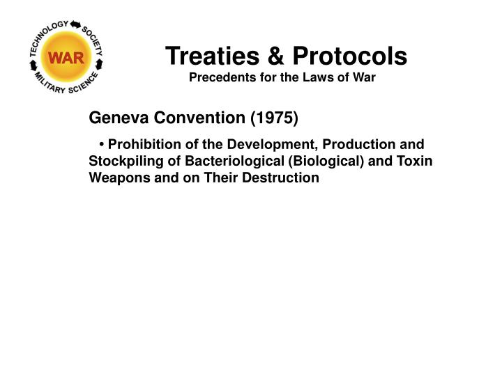 Treaties & Protocols