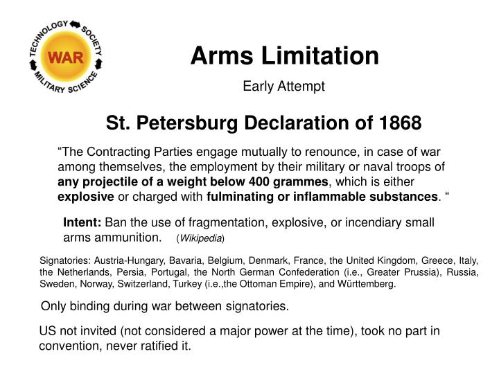 Arms Limitation