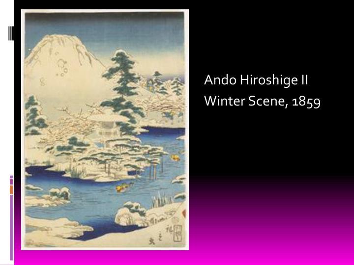 Ando Hiroshige II