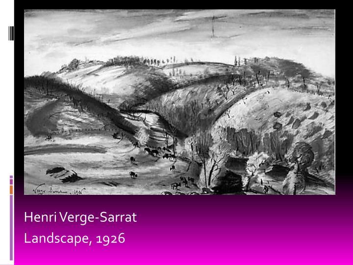 Henri Verge-