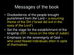 messages of the book