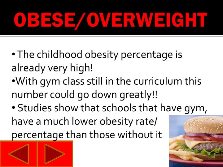 OBESE/OVERWEIGHT
