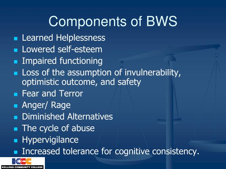 Components of BWS