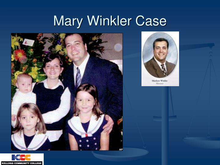 Mary Winkler Case