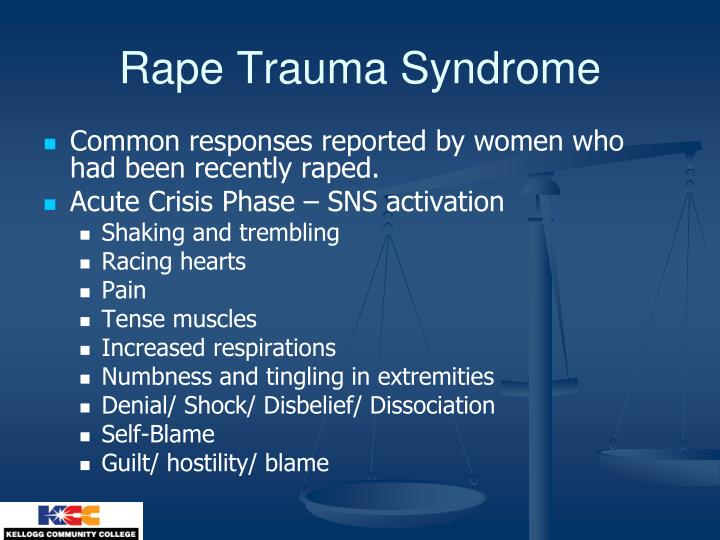 Rape Trauma Syndrome