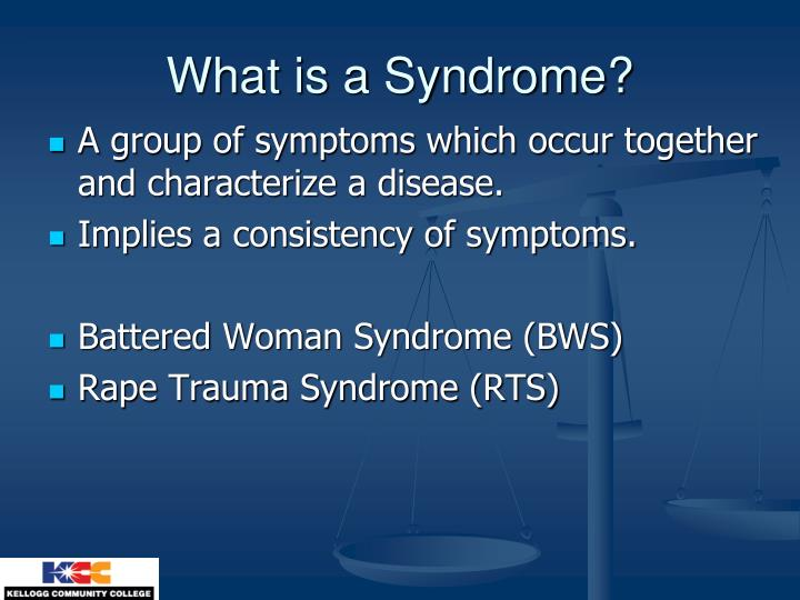 What is a syndrome