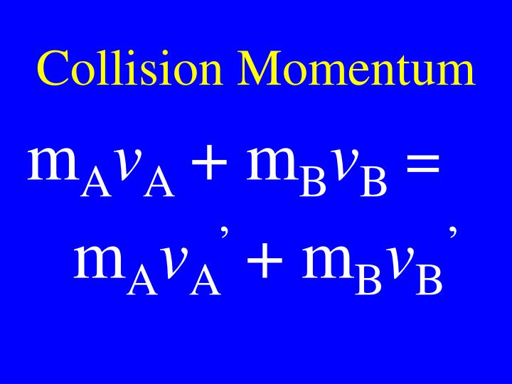 Collision Momentum
