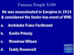 famous people 100