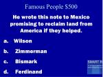 famous people 500