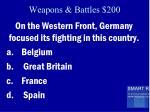 weapons battles 200