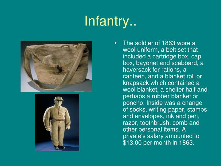 Infantry..