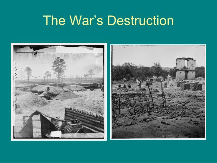 The War's Destruction