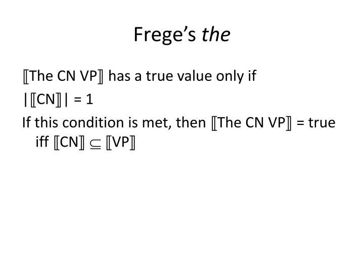 Frege's