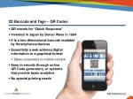 2d barcode and tags qr codes1