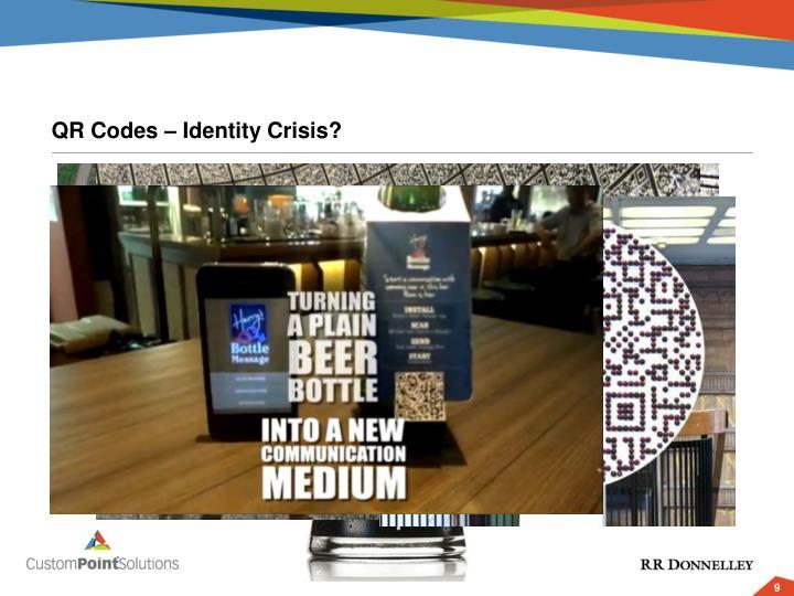 QR Codes – Identity Crisis?