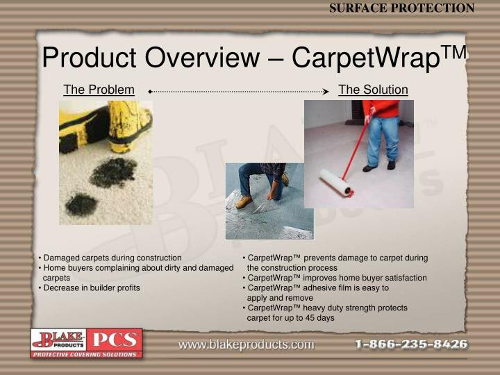 Product Overview – CarpetWrap